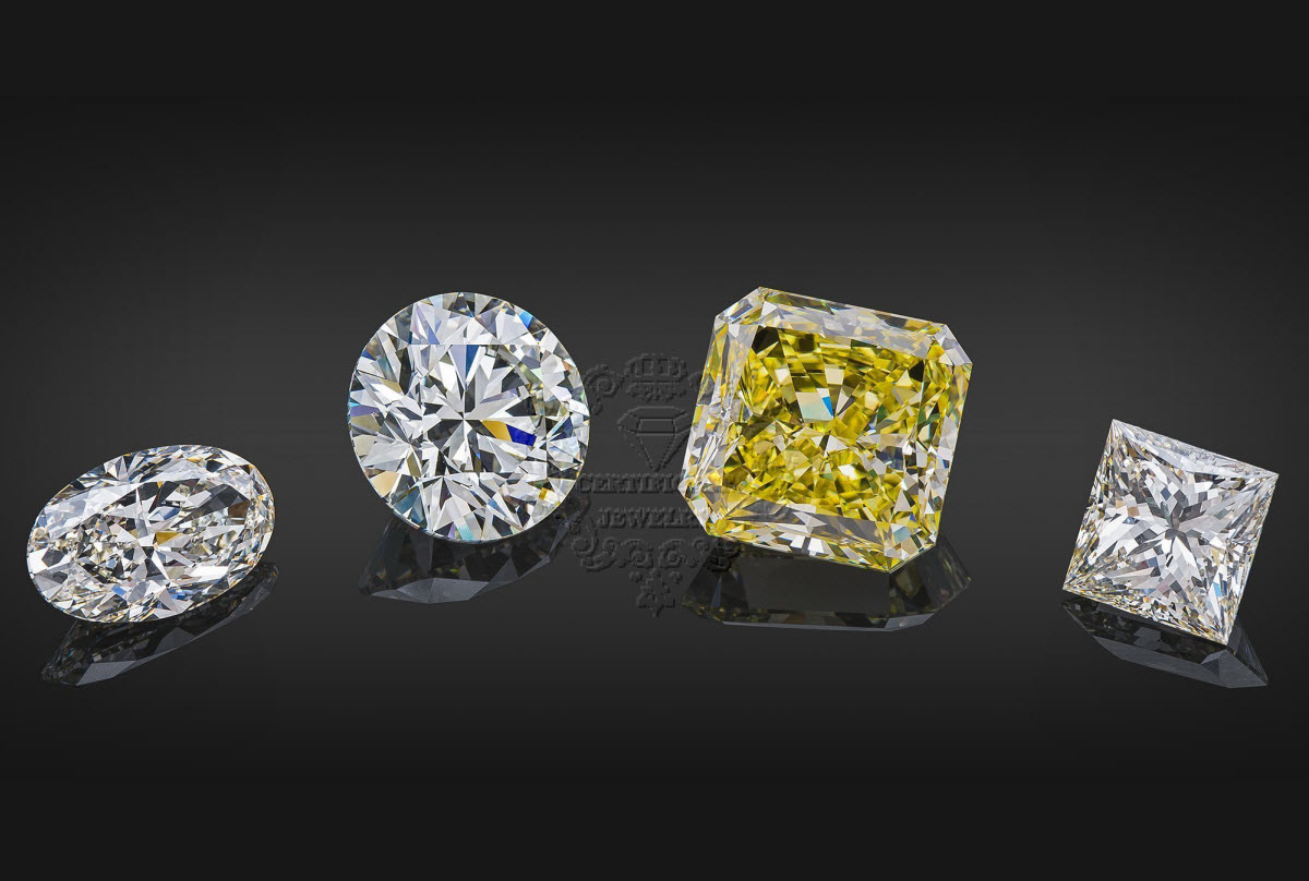 certificate jewelry, A Variety Of Diamond Colors