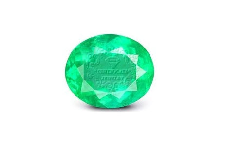 certificate jewelry, Emerald